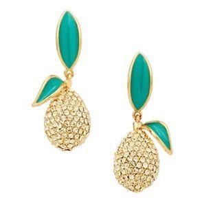KATE SPADE • Picnic Perfect Lemon Drop Earrings
